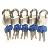 5 x X11 UltraMax Padlocks keyed alike