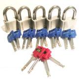 5 x X11 UltraMax Padlocks with master keys