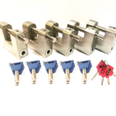 5 x M60 Shipping container padlocks