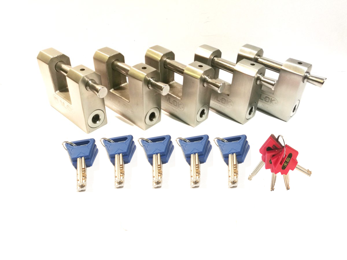 5 x M70 Shipping container padlocks