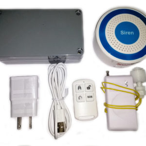 fluid alarm wireless system