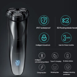Ultra Close Shave XPro Premium LED Electric Shaver