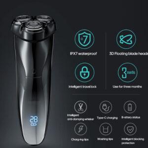 Ultra Close Shave XPro Premium LED Electric Shaver